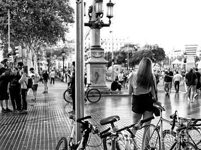 Photograph - Rambla De Canaletes Barcelona by John Rizzuto