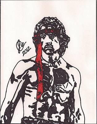 Rambo First Blood Part II Art Print