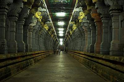 Rameshwaram Temple India Art Print