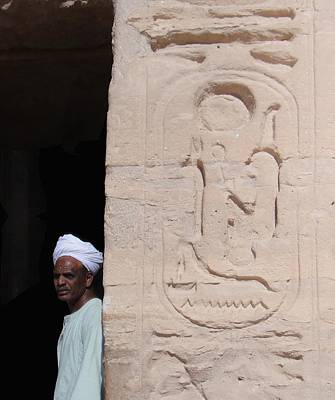 Photograph - Ramesses House by Richard Deurer