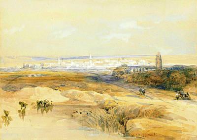 Photograph - Ramla 1839 by Munir Alawi