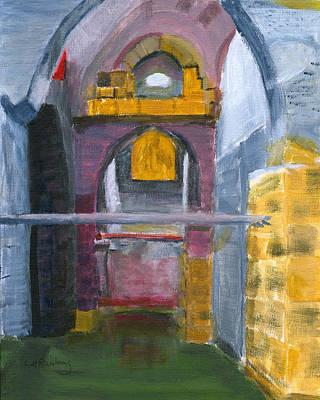Painting - Ramla Israel Cisterns by Linda Feinberg