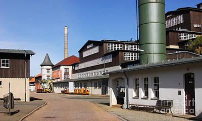 Photograph - Rammelsberg Ore Mine Goslar 1 by Rudi Prott