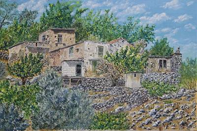 Ramni Old Village Original by David Capon