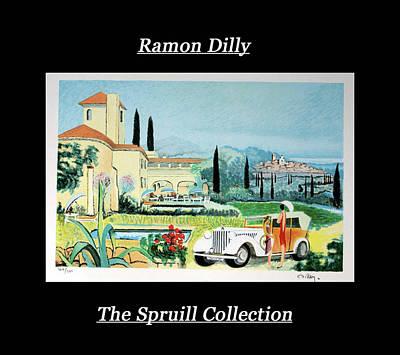 Mixed Media - Ramon Dilly by Everett Spruill