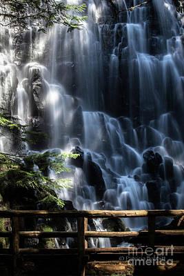 Photograph - Ramona Falls 4 by Patricia Babbitt