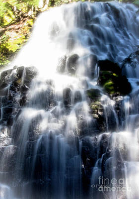 Photograph - Fairy Falls by Patricia Babbitt