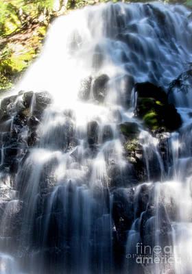 Photograph - Fairy Falls by Patricia Babbitt