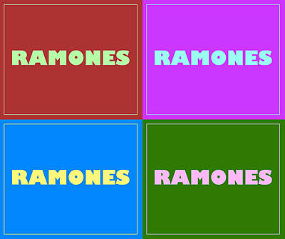 Photograph - Ramones by Kyle West