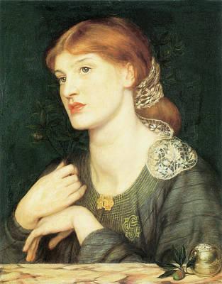 Ramoscello Bella E Buona Art Print by Dante Gabriel Rossetti