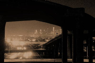 Photograph - Ramp Into La by Richard Omura