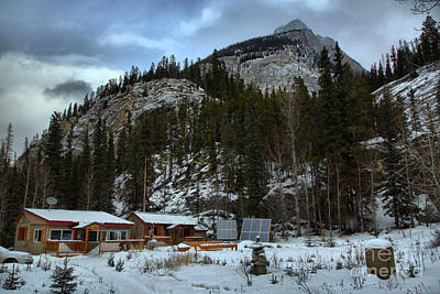 Photograph - Rampart Creek Hostel by Adam Jewell