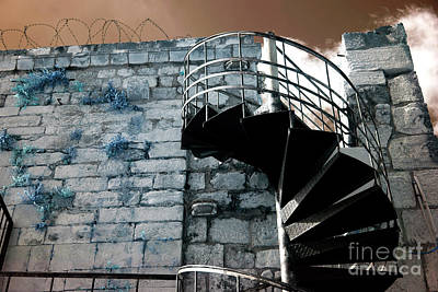 Photograph - Ramparts Stairs by John Rizzuto