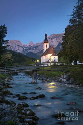 Photograph - Ramsau Church by Brian Jannsen