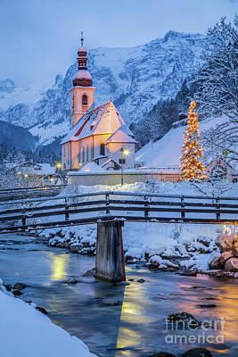 Photograph - Ramsau Winter Wonderland by JR Photography