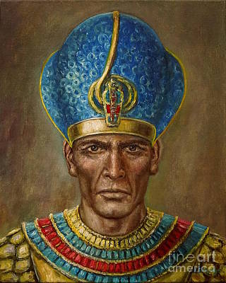 Painting - Ramses II by Arturas Slapsys