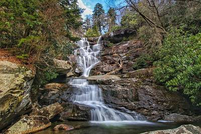 Ramsey Cascades - Tennessee Waterfall Art Print