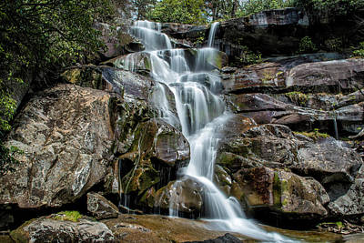 Photograph - Ramsey's Cascade  by Cathie Crow