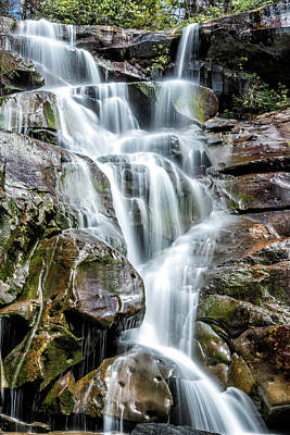 Photograph - Ramsey's Cascades by Cathie Crow