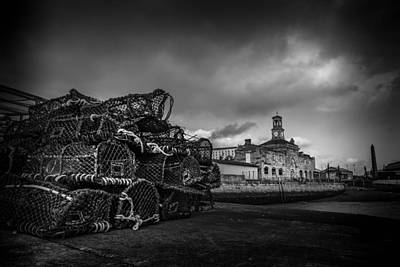 Photograph - Ramsgate Lobster Pots  by David Attenborough
