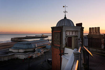 Kent Photograph - Ramsgate Sunset by Ian Hufton