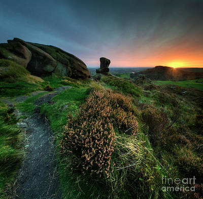 Photograph - Ramshaw Rocks 3.0 by Yhun Suarez