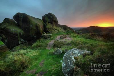 Photograph - Ramshaw Rocks 5.0 by Yhun Suarez
