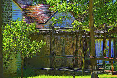 Photograph - Ranch House 11118 by Ray Shrewsberry