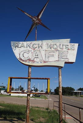 Photograph - Ranch House Cafe by Gia Marie Houck