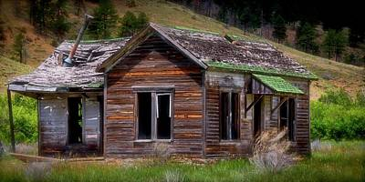 Photograph - Ranch House From The Past by Flying Z Photography by Zayne Diamond