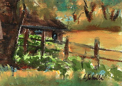 Painting - Ranch House by Laurie Salmela