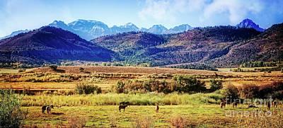Photograph - Ranch In The San Juans by Scott Kemper