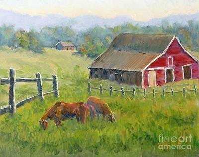 Ranch On The Cowboy Trail Original