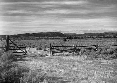 Slanec Photograph - Ranch Road by Christian Slanec
