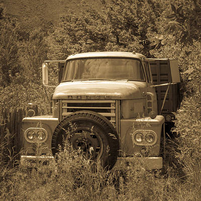 Photograph - Ranch Truck by Dave Hall