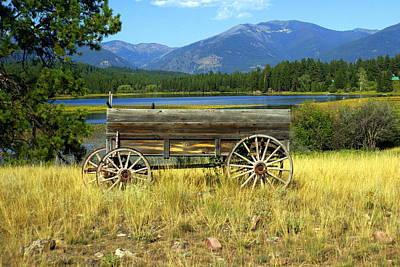 Ranch Wagon 3 Art Print by Marty Koch