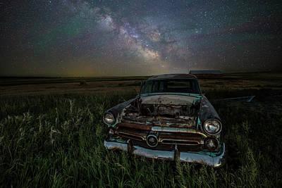 Abandoned Car Photograph - Ranch Wagon  by Aaron J Groen