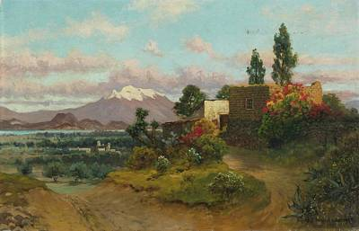 Red Roses - Rancheria  by August Lohr