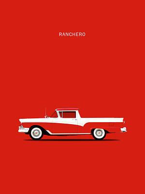 Ranchero 57 Art Print by Mark Rogan