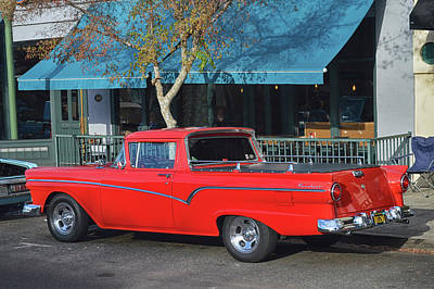 Photograph - Ranchero Red by Bill Dutting