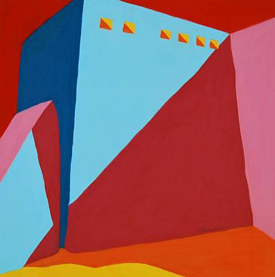 Pastel - Rancho De Taos by Diane Cutter
