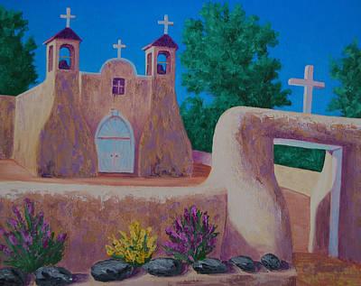 Painting - Rancho De Taos II by Cheryl Fecht