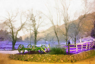 Digital Art - Rancho Los Rios by Viktor Savchenko