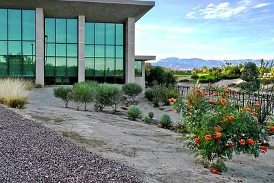 Photograph - Rancho Mirage Public Library by Kirsten Giving