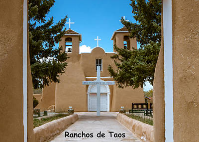 Photograph - Ranchos De Taos by Britt Runyon