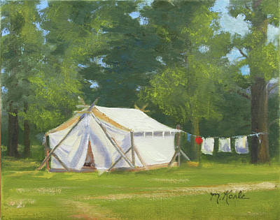 Painting - Randall's Camp by Marsha Karle