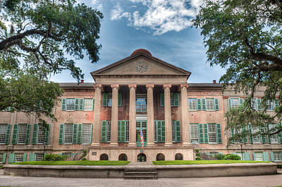 College Of Charleston Photograph - Randolph Hall by Drew Castelhano
