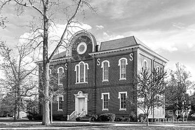 Virginia Photograph - Randolph- Macon College Franklin Hall by University Icons