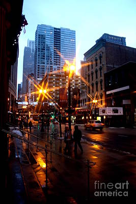 Mike Schmidt Photograph - Randolph Street by Mike Schmidt