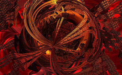Recondite Digital Art - Random Events Of Courage by GT Graeff